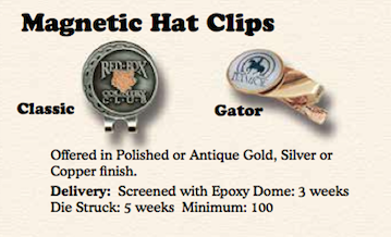 Magnetic Hat Clips