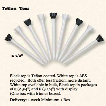 Tees - Teflon
